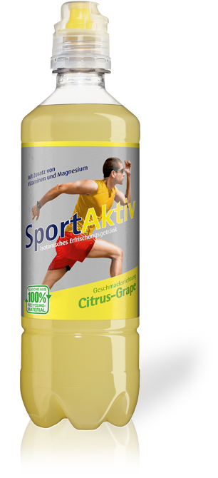 SportAktiv Citrus-Grape isotonisch